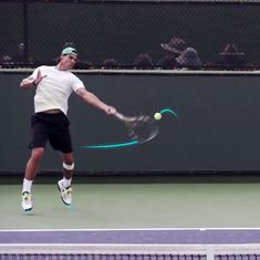 Video: Decoding Rafael Nadal's lethal forehand