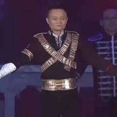 Watch: Alibaba founder Jack Ma dressed up as Michael Jackson and danced his feet off