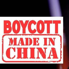 Swadeshi is a stupid idea under most circumstances, 'Boycott China' epically so