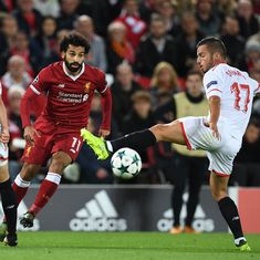 Liverpool's Champions League return spoiled by Sevilla in dramatic 2-2 draw