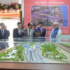 बुलेट ट्रेन परियोजना की आधारशिला के साथ देश के ढांचागत विकास में एक ऐतिहासिक पल जुड़ गया है