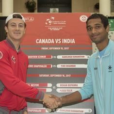 Davis Cup: Can India pull off an upset against a hobbling Canada in the World Group Play-offs?