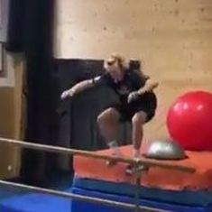Watch: This insane exercise routine is not for the faint-hearted