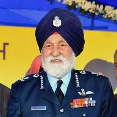 Marshal of the Indian Air Force Arjan Singh dies at 98