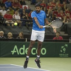 Tennis: Bopanna-Shapovalov upset Bryan brothers in Stuttgart; Raina loses in Nottingham