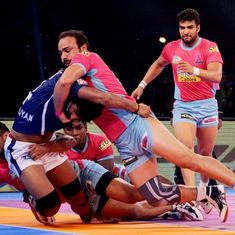 PKL: Jaipur Pink Panthers defeat Dabang Delhi 36-25, Warriors' late surge ensures draw