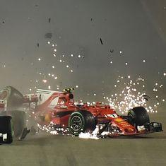 'No driver wholly responsible': Vettel, Raikkonen escape punishment over Singapore GP crash