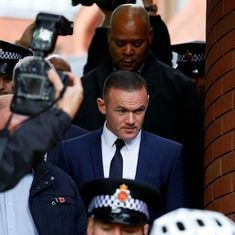 100 hours of unpaid work, two-year driving ban: Rooney's punishment after drink-drive guilty plea