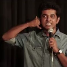 Watch: A stand-up comedian reveals his painful and embarrassing struggles with Hindi