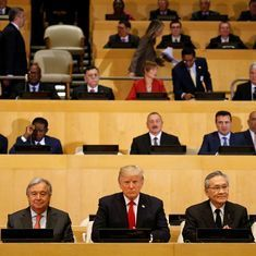 Donald Trump makes his UN debut, asks it to focus more on people