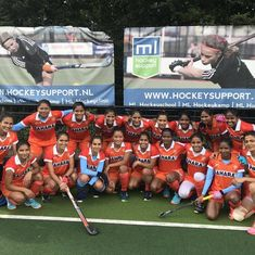 India women end Europe tour on a high, beat Belgium junior men's team 4-3