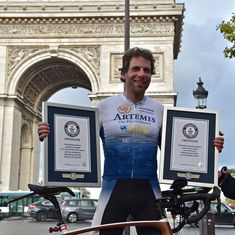 Around the world in 79 days: Scottish cyclist Mark Beaumont smashes all-time record