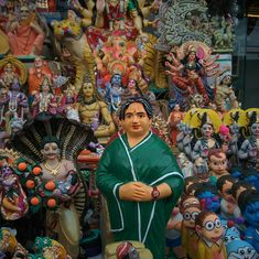 In Chennai's festive season, Jayalalithaa dolls are giving the gods a run for their money