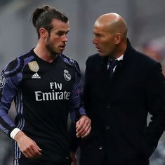 He's doing well and I'm counting on him: Zidane wants Bale to stay at Real Madrid until season ends