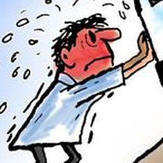कार्टून : ताकि आम आदमी की सेहत बनी रहे