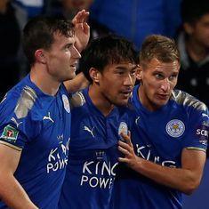 English League Cup: Leicester stun Liverpool, Dele Alli's strike helps Tottenham edge past Barnsley