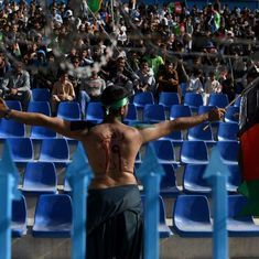The show must go on: Afghan cricket fans brave security threat to support their favourite team