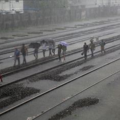 Mumbai rain: Suburban train services resume slowly, BMC clarifies that there is no cyclone warning