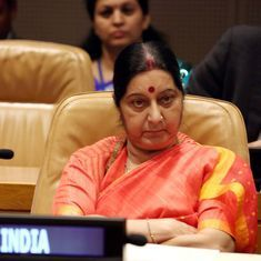 Sushma's sharp speech and a Pakistan gaffe boost India but the real story is in Afghanistan
