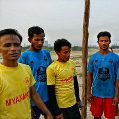 Video: The story of Rohingya Shining Stars and their football dream