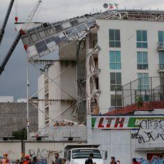 मैक्सिको में भूकंप, कई इमारतों को नुकसान