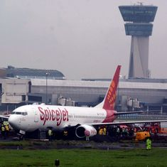 Flight operations at Mumbai airport resume after authorities move SpiceJet aircraft stuck in mud