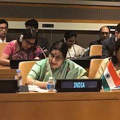 No act of terror can be justified, says Sushma Swaraj