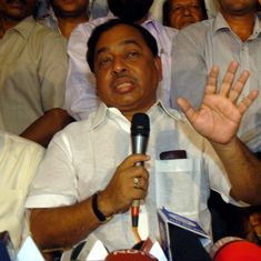 Maharashtra Congress leader Narayan Rane quits party