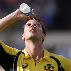 Australia use technology to beat the heat at the Eden Gardens