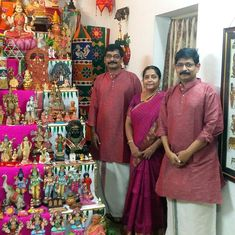 This Navratri season, meet the golu experts of Chennai – the Mylapore Trio