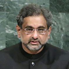 There is no case against Hafiz Saeed 'sahib' in Pakistan, says PM Shahid Khaqan Abbasi