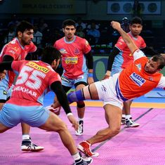 PKL: Haryana Steelers outclass Pink Panthers 30-26, UP Yoddha stun Pirates in high-scoring contest