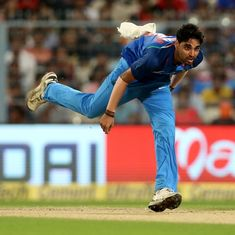 I don't just rely on swing any more, I'm pacy as well: Bhuvneshwar Kumar is an all-round bowler now