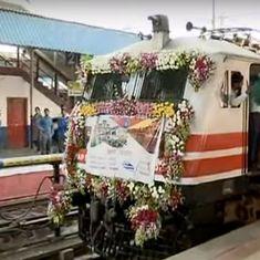 Narendra Modi flags off Vadodara-Varanasi Mahamana Express