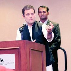 Rahul Gandhi says Mahatma Gandhi, Jawaharlal Nehru were NRIs who transformed India