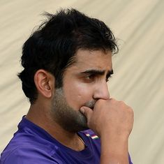 Gautam Gambhir takes dig at Bishan Bedi and Chetan Chauhan after Navdeep Saini's India selection