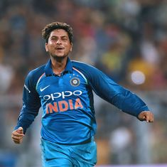 Spinners Kuldeep Yadav, Adam Zampa break into top five in latest ICC men's T20I rankings
