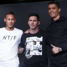 'That wouldn't please me at all': Messi hopes Neymar doesn't end up at Real Madrid