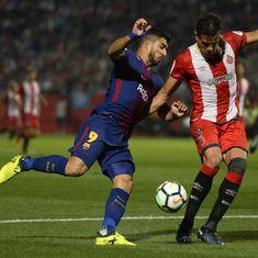 Barcelona maintain perfect start with 3-0 win over Girona