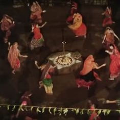 Picture the song: No dandiya sticks, no disco beats in 'Mirch Masala' garba dance