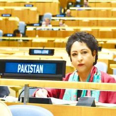 At the UN, Pakistan's envoy passes off photo of girl injured in Gaza as a Kashmiri