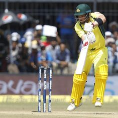 In-form Aaron Finch ruled out of fourth ODI as Australia seek first win of series