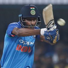 Pandya, Karthik join Rest of World squad to take on West Indies in charity T20 match at Lord's