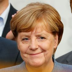 Angela Merkel becomes German chancellor for fourth term