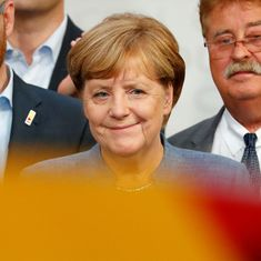 Germany election: Angela Merkel wins fourth term, far-right party finishes third