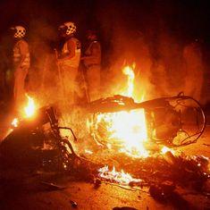 Varanasi: FIR filed against 1,000 Banaras Hindu University students for arson