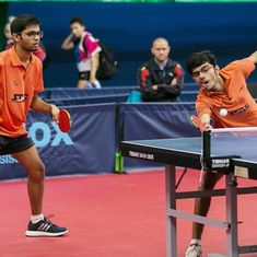 Czech Junior & Cadet Open: India paddlers Manav Thakkar and Manush Shah win silver in doubles