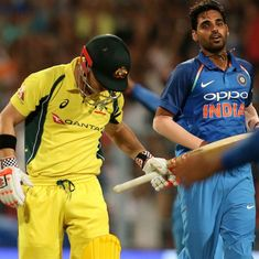 Bumrah, Bhuvneshwar probably two of the best death bowlers going around, says Steve Smith
