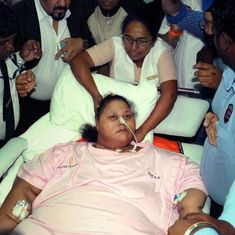 'The world's heaviest woman' Eman Ahmed dies in Abu Dhabi