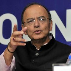 Finance Minister Arun Jaitley credits government's reforms for rise in GDP growth rate